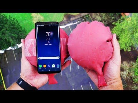 Samsung Galaxy S8 cade da oltre 30m di altezza, resisterà?