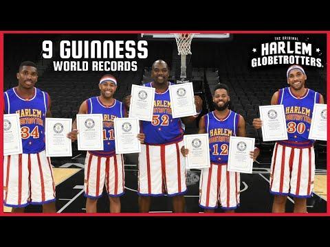 Harlem Globetrotters Set 9 Guinness World Records!