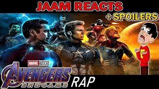 AVENGERS: ENDGAME RAP (¡¡Con Spoilers!!) - Final Del Juego | Keyblade [Prod. Dansonn] - JAAM Reacts