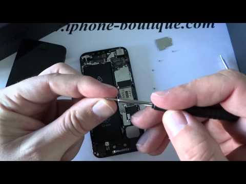 comment ouvrir iphone 5 s