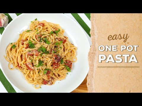3 EASY One Pot Pasta Recipes | Dinner Made Easy