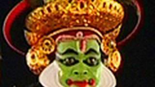 Lord Rama in Balivadham Kutiyattam