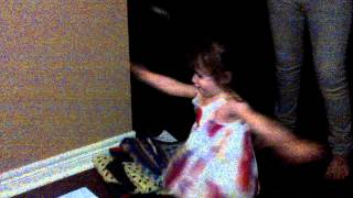 "Abbie dancing to my Dragonette track ""Untouchable"""