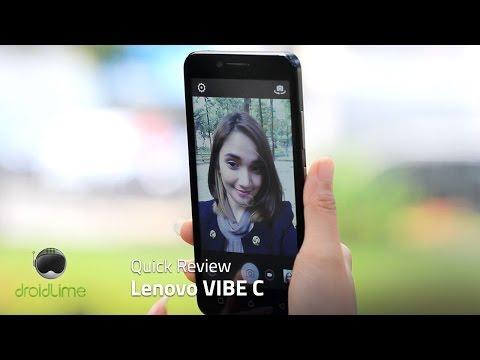 Lenovo VIBE C Quick Review