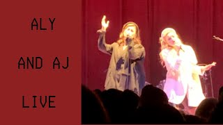 Aly And AJ Concert LIVE | Potential Breakup Song 2019 | Vlog