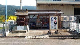愛媛県四国中央市、「大久保自販店 寒川販売所」で自販機うどん!「三島販売所」も行ったよ! #171