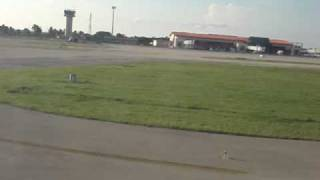 preview picture of video 'Approach and Landing at Varadero Airport Cuba, Atterrissage à Cuba, Aeropuerto de Varadero Cuba'