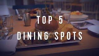 Royal Caribbean International: Top 5 Onboard Dining Spots