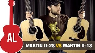 Martin D28 Vs D18   Review And Comparison