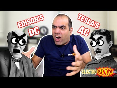 Why Use AC Instead of DC at Home??
