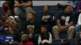 Little Elm High School Basketball Honors Detective Jerry Walker