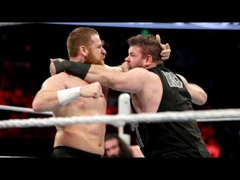 WWE Sami Zayn vs Kevin Owens - WWE Battleground 2016 HD
