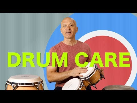 Drum Care for Congas, Bongos, Djembe