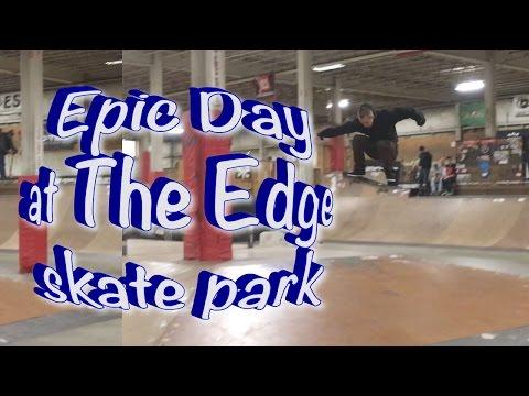 Anthony Shetler EPIC Day at the EDGE skate park
