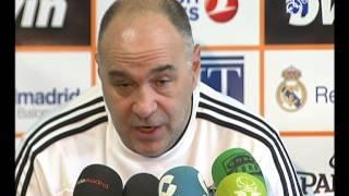 """Laso: """"El quinteto del Efes es de los más fuertes de la Euroliga y es una prueba importante"""""""