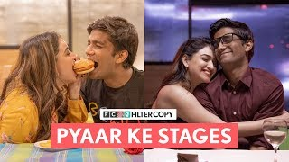 Every love story is beautiful but ours is my favourite ❤️ Are you wondering what the stages of a relationship journey might look like? Then do check out this video. Hope you guys enjoy watching this :)  Follow us on Tik Tok ➡️ https://www.tiktok.com/@filtercopy Follow us on Instagram ➡️  http://bit.ly/FCGram    Writer  Preksha Khanna Vineeth Srinivasan   Director  Keenan Burroughs   Assistant Director  Priyankar Biswas   Dop  Ajinkya Pandit  Vaibhav Lonkar   Producer  Sripriya Yegneswaran   Executive Producer  Jenika Shah Dhruv Mohan   Cast   Manish Kharage Monica Sehgal    Casting   Pocket Aces Talent Gunjan Saini   Editor  Mrinalini Mathur   Color Grading  Vaibhav Lonkar   Graphics  Arzoo Naqvi   Sound Design  Hardik Desai Harshvardhan Singh   Makeup And Hair  Nikita Thombre   Dressman  Mahendra Kumar   Video Operations  Raunak Ramteke Amulya Prabhu   Camera Attendant  Vipul    Sound Recordist  Shailendra Singh   Light Attendant  Santosh Sharma   Spot  Pritam Kumar   Subtitles  Sanjana Menon