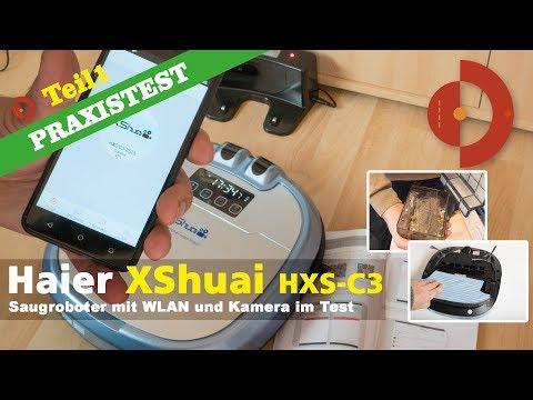 Haier XShuai HXS-C3 - Preisgünstiger WLAN Roboter im Test - Teil 1