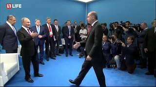 Переговоры Владимира Путина и Реджепа Эрдогана на G20