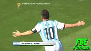 "Leo Messi I ""Sube La Mano Y Grita Gol"" I FutBolEro"