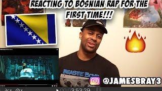 FIRST REACTION TO BOSNIAN RAP |Buba Corelli   Balenciaga (Official Video)
