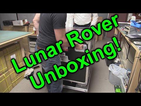 EEVblog #885 - Audi Quattro Lunar Rover Unboxing!
