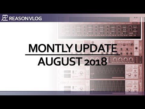 Monthly schedule<br/>August<br/>reasonvlog