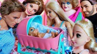БАРБИ И КЕН НЕ МОГУТ ВЫБРАТЬ ИМЯ ДЛЯ СЫНА / Играем в куклы