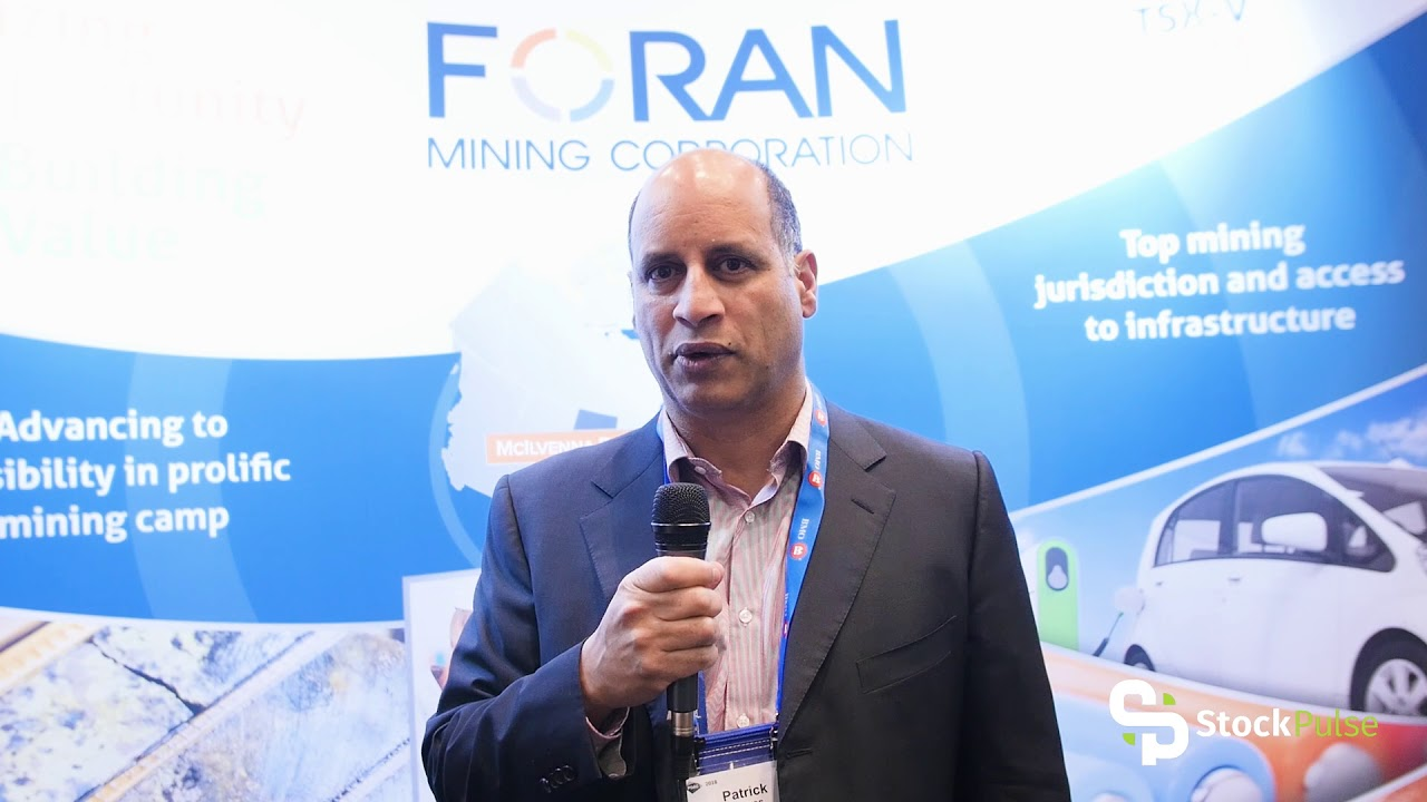 Foran Mining Catalyst Clip with President & CEO Patrick Soares at the 2018 PDAC in Toronto