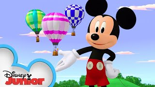 What Goes Pup, Must Come Down! 🐶| Mickey Mouse Hot Diggity Dog Tales | Disney Junior
