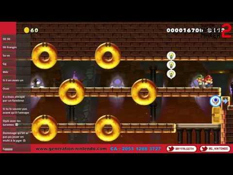 Super Smash Bros. Ultimate - Session Multi : Mario Maker + Smash