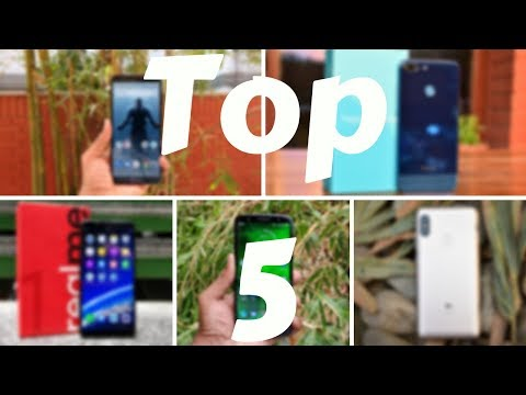 Top 5 Smartphones Under Rs 15,000 in July 2018