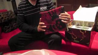 Unboxing Console Gears of War e Retro Lancer