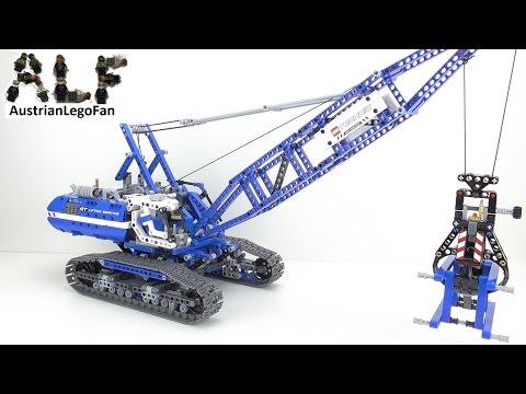 Vidéo LEGO Technic 42042 : La grue sur chenilles