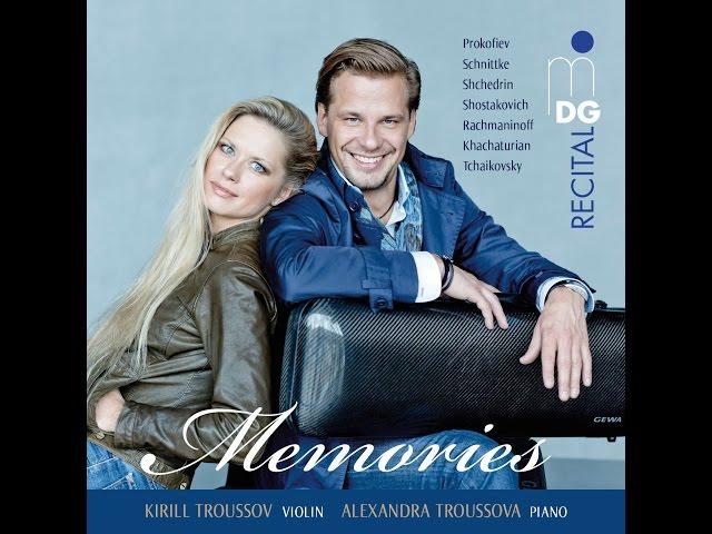 "Kirill Troussov: ""Memories"" - Album Video-Trailer"