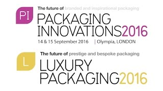Packaging Innovations & Luxury Packaging London 2016 Event Preview    Packaging News