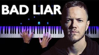 Imagine Dragons   Bad Liar   Piano Tutorial   Synthesia