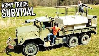 5 TON ARMY TRUCK BUGOUT CHALLENGE!
