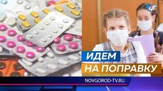 Эпидемию гриппа в Новгородской области удалось сдержать