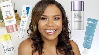 BEST SPF For Face! Drugstore, Oily Skin, Under Makeup! Current Faves!!