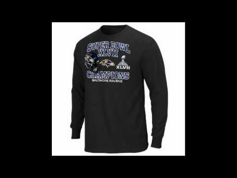 NFL Baltimore Ravens Super Bowl XLVII Championship Way V Long Sleeve T Shirt
