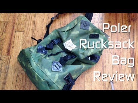 Poler Rucksack Review (Green Camo)