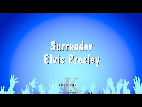 Surrender - Elvis Presley (Karaoke Version)