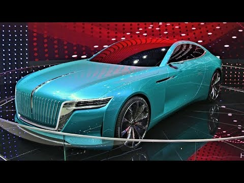 Hongqi E·Jing GT - Stunning Luxury Chinese Electric Car!