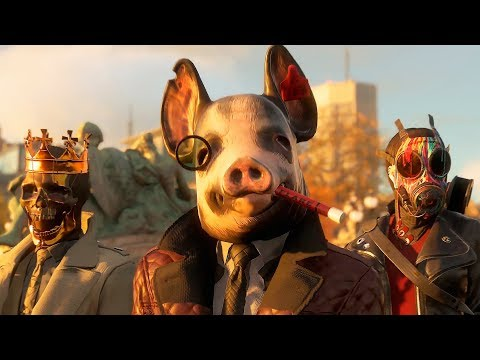 Watch Dogs 3: Legion — Русский трейлер игры (2020)