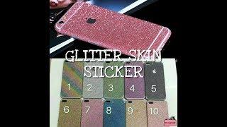 iphone 7 plus Glitter Skin Sticker Skin Garskin Insulation Sticker Bling Blink