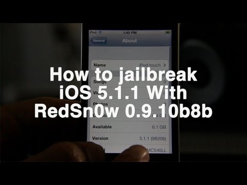 Jailbreak para iOS 5.1.1 tethered disponible