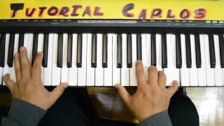 Vuelve Satelite feat. Jesus Adrian Romero - Tutorial Piano Carlos