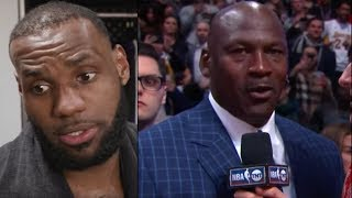 "Michael Jordan CALLS OUT Lebron James! ""You Wear MY Number!"" Lebron RESPONDS!"