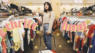 Come Thrifting With Me + Back To School Clothing Haul! (No.4)