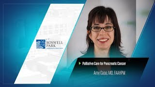Palliative Care for Pancreatic Cancer | Dr. Amy Case
